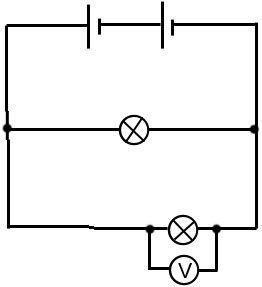Circuits on lights in parallel diagram