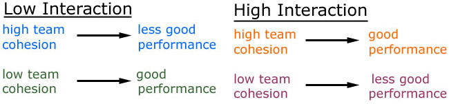 team cohession : group cohesion self-handicapping behavior psychological momentum.
