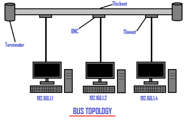bus topology in computer network choice image